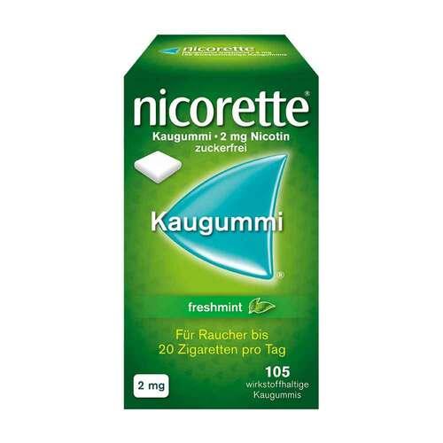 Nicorette Kaugummi 2 mg freshmint - 1