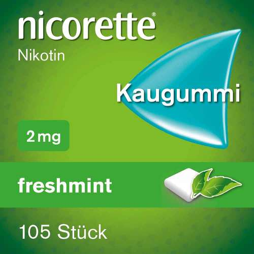 nicorette Kaugummi freshmint, 2 mg Nikotin - 2