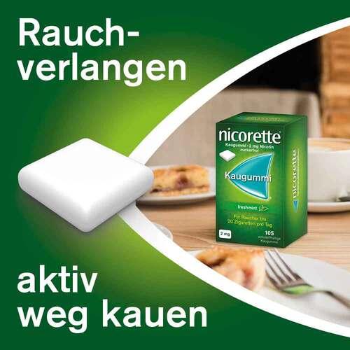 nicorette Kaugummi freshmint, 2 mg Nikotin - 3
