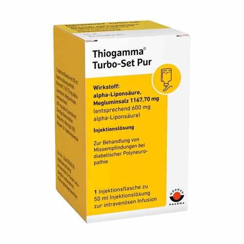 Thiogamma Turbo Set Pur Injektionsflaschen - 1