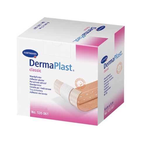 Dermaplast Classic Pflaster 4 cm x 5 m - 1