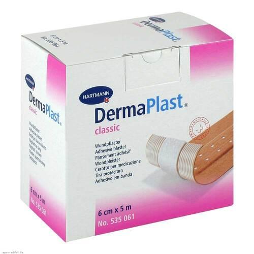Dermaplast Classic Pflaster 6 cm x 5 m - 1