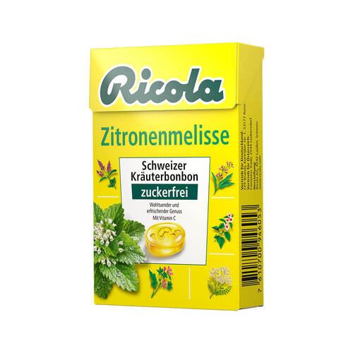 Ricola ohne Zucker Box Zitronenmelisse - 1