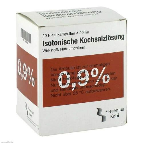 Kochsalzlösung 0,9% Plastikampulle Fresenius - 1