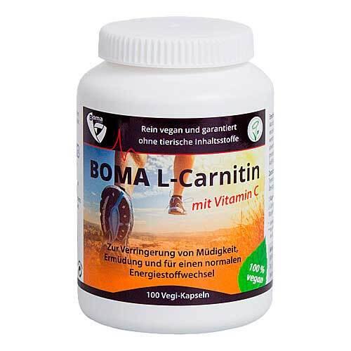 L-Carnitin 500 mg mit Vitamin C Kapseln - 1