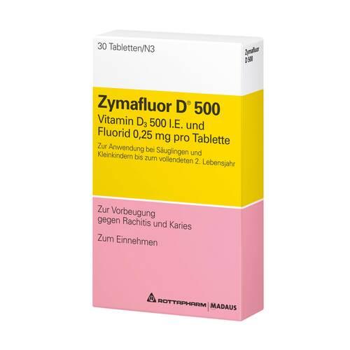 Zymafluor D 500 Tabletten - 1