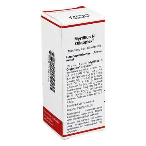 Myrtillus N Oligoplex Liquidum - 1