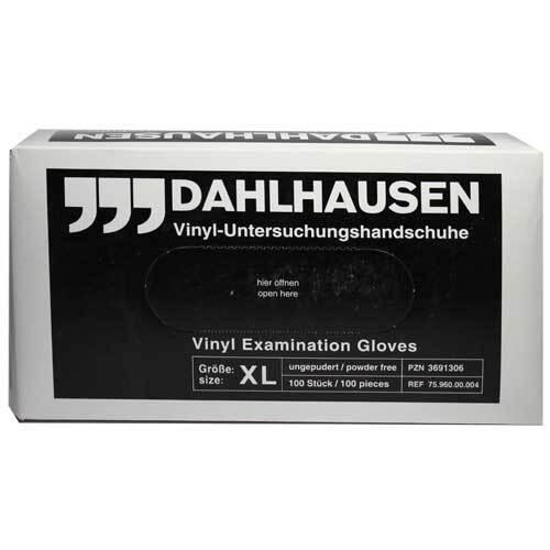 Vinyl Handschuhe ungepudert Größe XL - 1