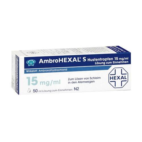Ambrohexal S Hustentropfen 15 mg/ml - 1