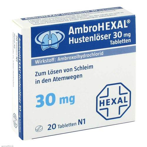 Ambrohexal Hustenlöser 30 mg Tabletten - 1