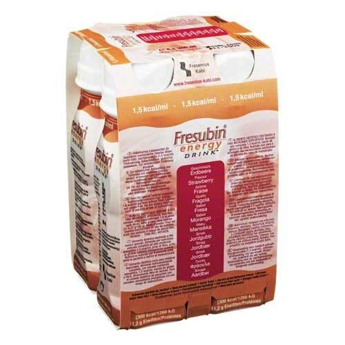 Fresubin Energy Drink Erdbeere Trinkflasche - 1