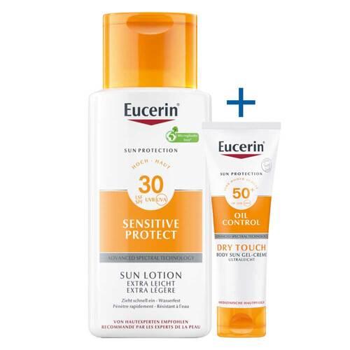 Eucerin Sun Lotion Extra Leicht LSF 30 - 1