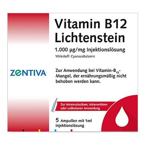 Vitamin B12 1000 µg Lichtenstein Ampullen - 1