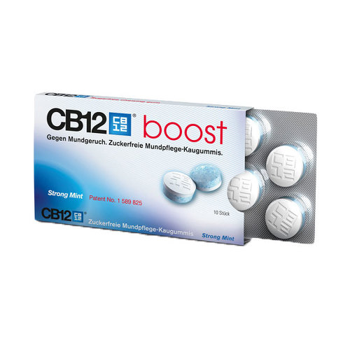 CB12 boost Strong Mint Kaugummi - 1
