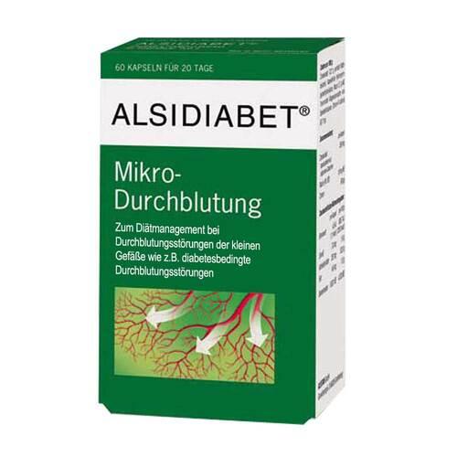 Alsidiabet Diabetiker Mikro-Durchblutung Kapseln - 1