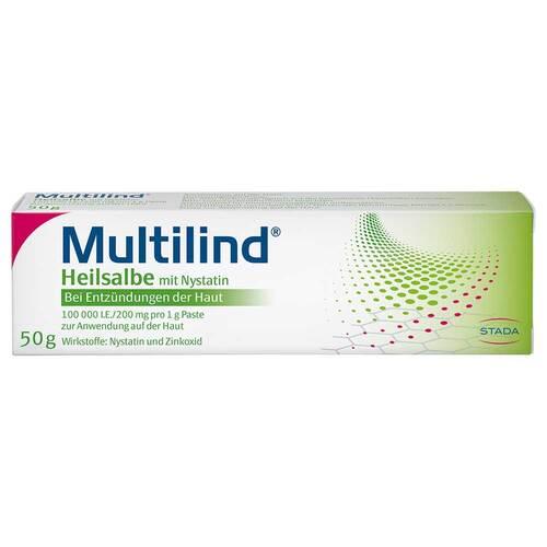 Multilind Heilsalbe mit Nystatin und Zinkoxid - 1