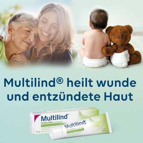 Multilind Heilsalbe mit Nystatin und Zinkoxid - 2