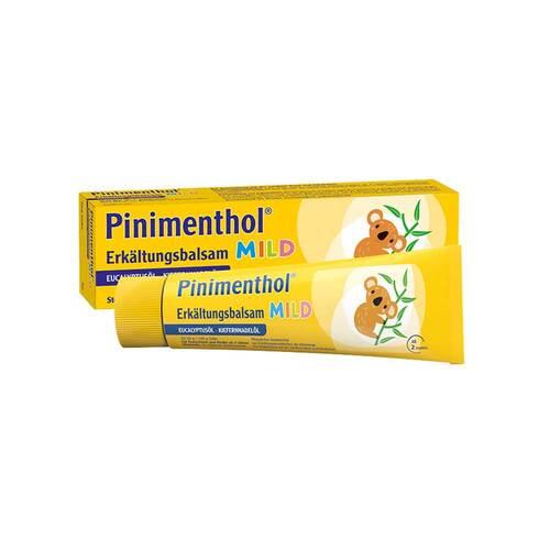 Pinimenthol Erkältungsbalsam mild - 1