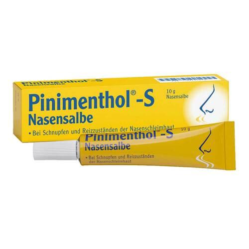 Pinimenthol S Nasensalbe - 1
