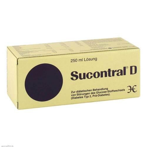Sucontral D Diabetiker Lösung - 1