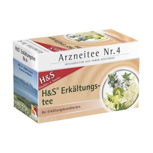 H&S Erkältungstee Nr. 4 Filterbeutel - 2