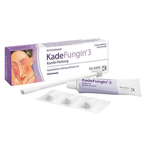Kadefungin 3 Kombipackung 20 g Creme + 3 Vaginaltabletten - 1