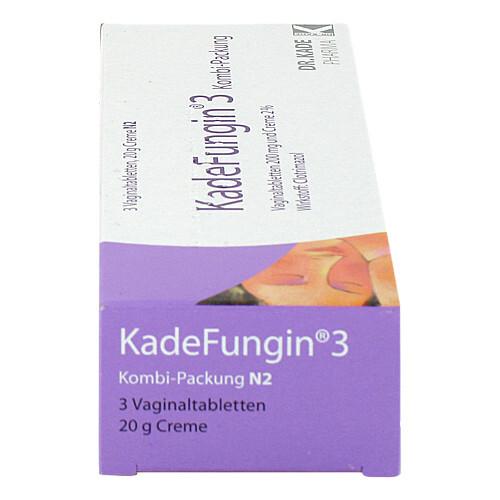 Kadefungin 3 Kombipackung 20 g Creme + 3 Vaginaltabletten - 2