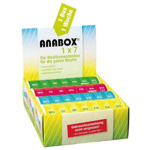 Anabox 1x7 bunt - 2