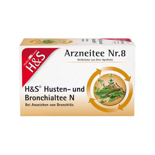 H&S Husten- und Bronchialtee N Filterbeutel - 1