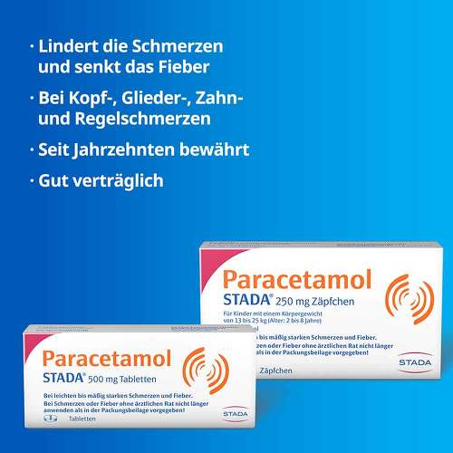 Paracetamol STADA 250 mg Zäpfchen - 2