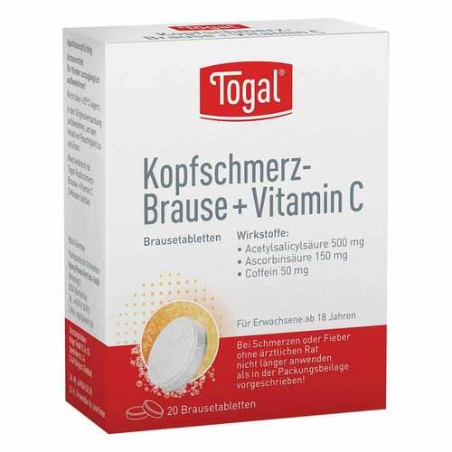 Togal Kopfschmerz-Brause + Vit. C Brausetabletten - 1