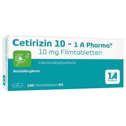 Cetirizin 10 1A Pharma Filmtabletten - 1