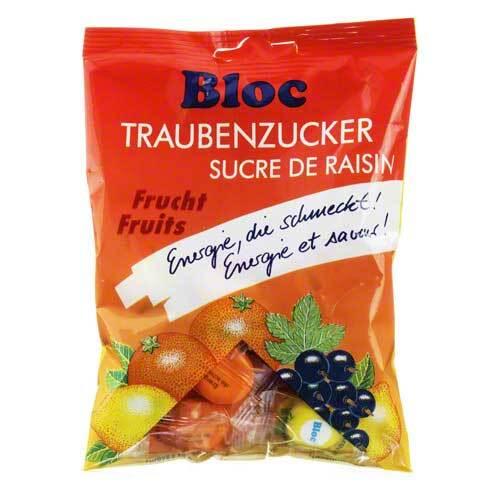 Bloc Traubenzucker Fruchtmischung Beutel - 1