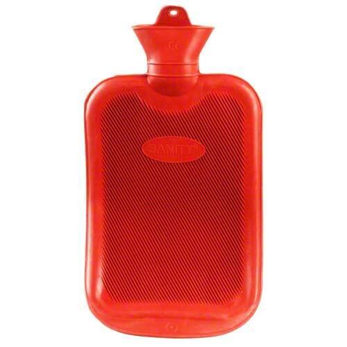 Wärmflasche Gummi Doppellamelle 2 l - 1