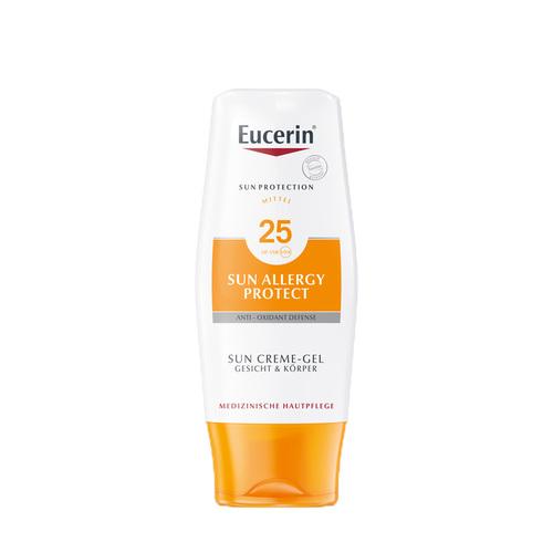 Eucerin Sonnen Allergie Schutz Sun Creme-Gel LSF 25 - 1