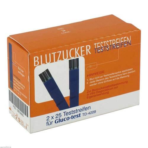 Gluco Test Blutzuckerteststr - 1