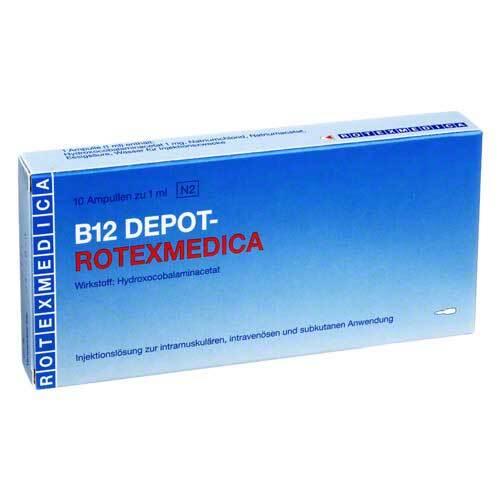 Vitamin B12 Depot Rotexmedica Injektionslösung - 1
