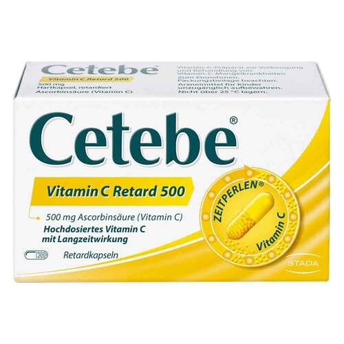 Cetebe Vitamin C Retardkapseln - 1