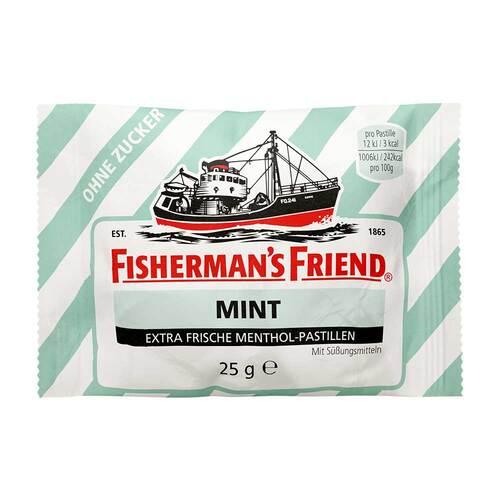 Fishermans Friend mint ohne Zucker Pastillen - 1