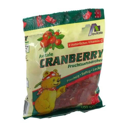Cranberry Fruchtsaftbärchen - 1