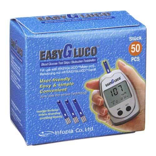 Easygluco Blutzucker Teststr - 1
