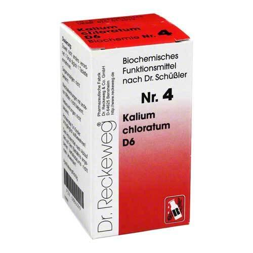 Biochemie 4 Kalium chloratum D 6 Tabletten - 1