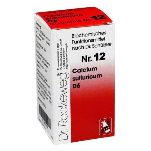 Biochemie 12 Calcium sulfuricum D 6 Tabletten - 1