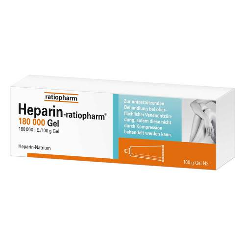 Heparin Ratiopharm 180.000 I.E.Gel - 1
