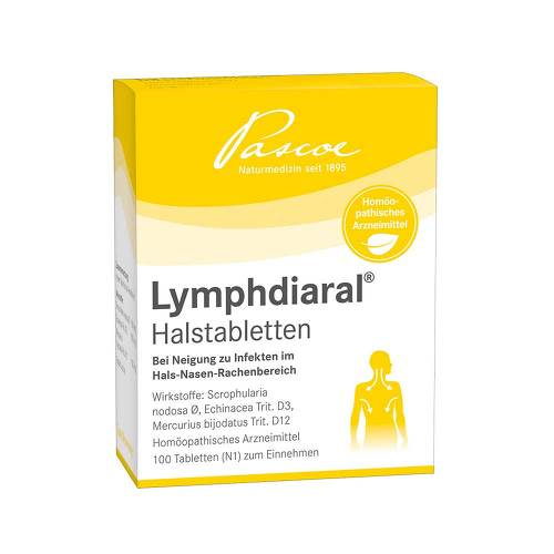 Lymphdiaral Halstabletten - 1