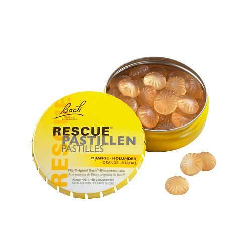 Bach Original Rescue Pastillen Orange Holunder - 1