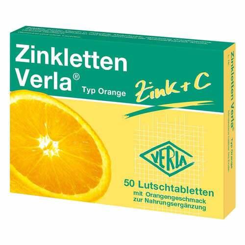 Zinkletten Verla Orange Lutschtabletten - 1