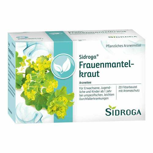 Sidroga Frauenmantelkraut Tee Filterbeutel - 1