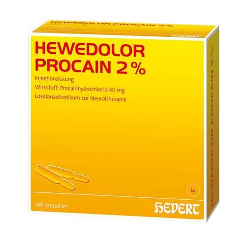 Hewedolor Procain 2% Ampullen - 1