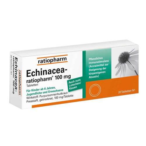 Echinacea Ratiopharm 100 mg Tabletten - 1